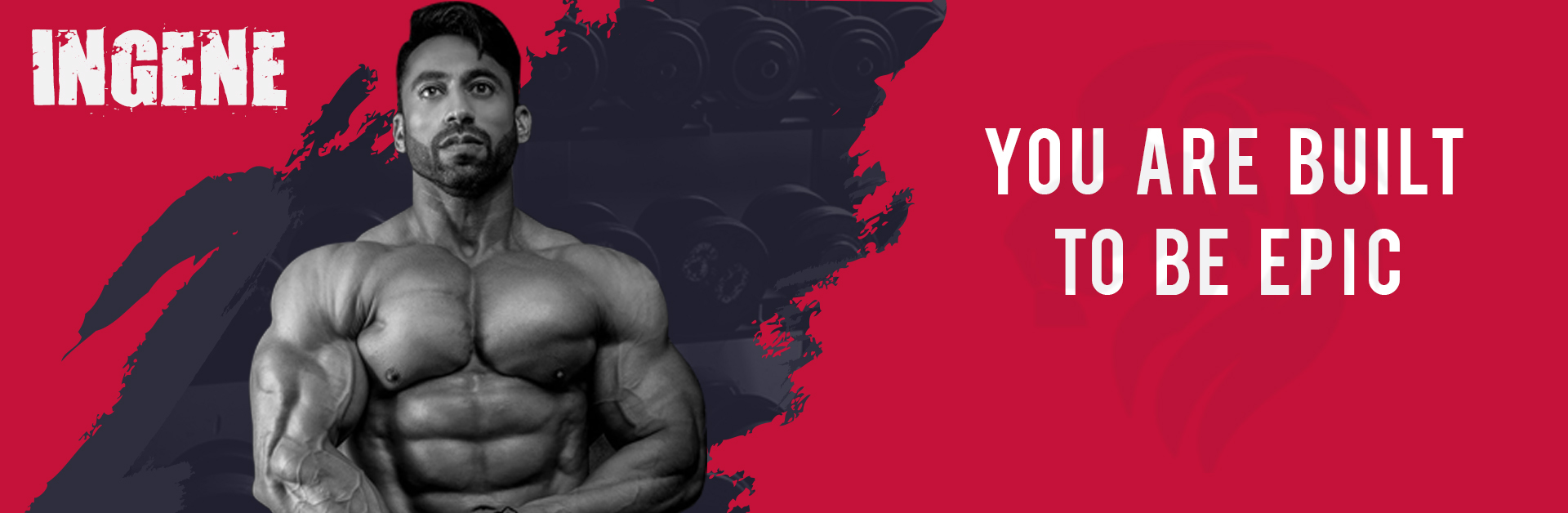 Brand Ambassador Bodybuilding Champion Kamal Goswami - InGene Fitness - You are built to be epic