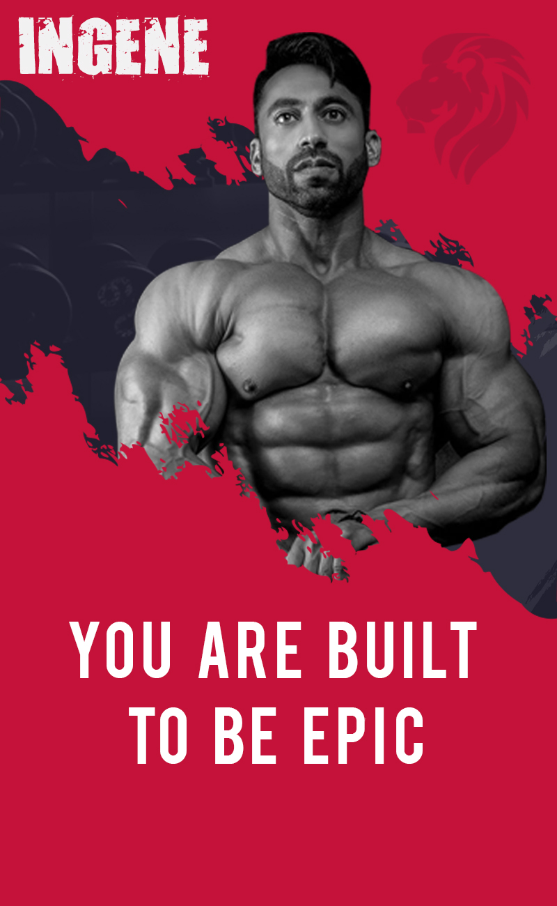 Brand Ambassador Bodybuilding Champion Kamal Goswami - InGene Fitness - You are built to be epic - mobile view