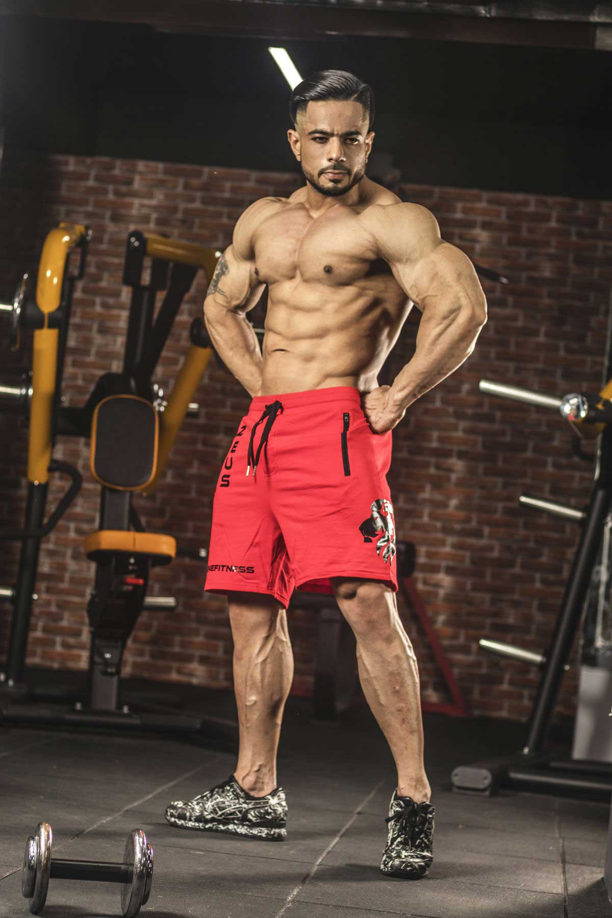 InGene Gym Short – Red